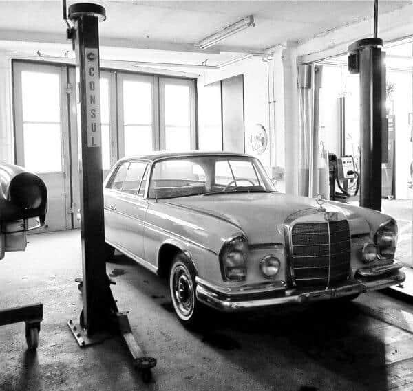 Oldtimer und Autowerkstatt in Bad Saulgau