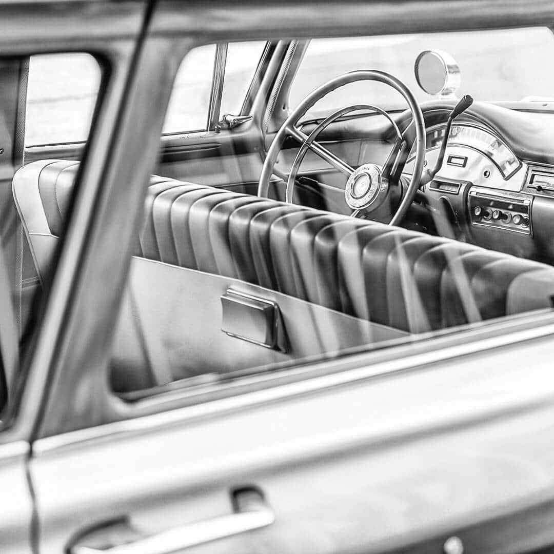 US-Fahrzeuge, Verglasung und Aufbereitung von Oldtimern