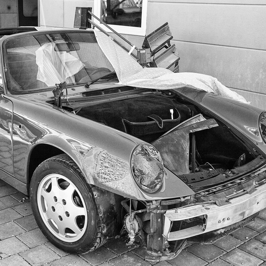 Unsere Spezialität ist die Restauration von liebenswerten Fahrzeuge, hier gehört natürlich auch die Lackierung hinzu!