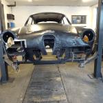 Restauration Alfa Romeo Giulietta Sprint 1960